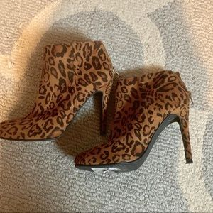 Ankle leopard boots from Nordstrom